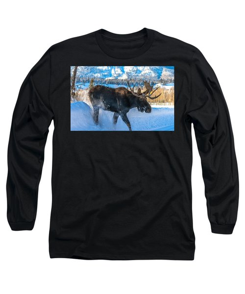 The Bulldozer Long Sleeve T-Shirt
