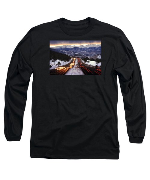 The Call Of The Mountains Long Sleeve T-Shirt