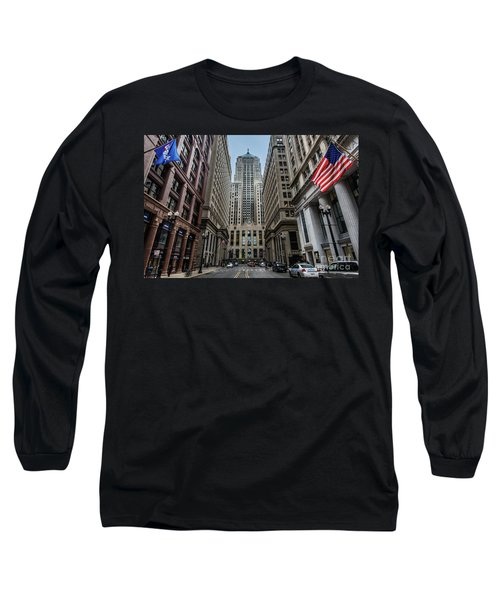 The Canyon In The Financial District Long Sleeve T-Shirt