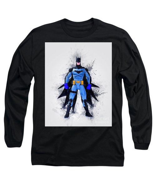 The Caped Crusdaer Long Sleeve T-Shirt