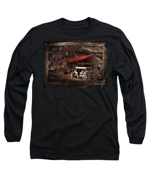 The Carriage Long Sleeve T-Shirt by Bob Pardue