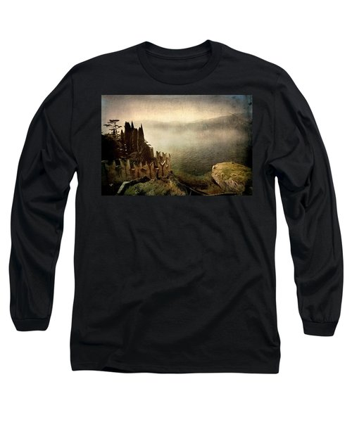 The Castle On The Lake. Malcesine Long Sleeve T-Shirt
