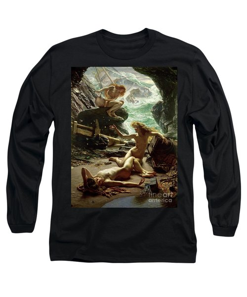 The Cave Of The Storm Nymphs Long Sleeve T-Shirt