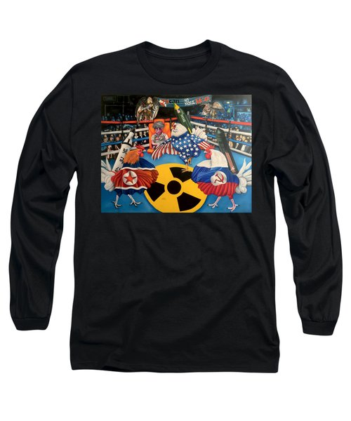 The Chickens Fight Long Sleeve T-Shirt