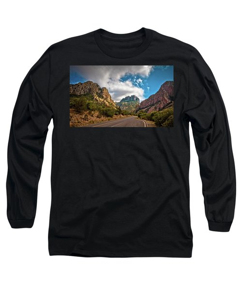 The Chisos Mountains Long Sleeve T-Shirt