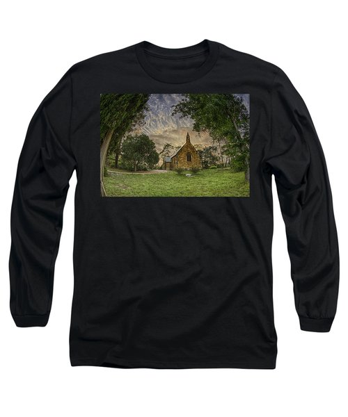 Long Sleeve T-Shirt featuring the photograph The Church by Chris Cousins