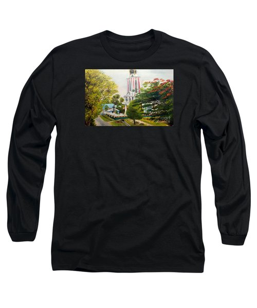 The Church In My Village Long Sleeve T-Shirt