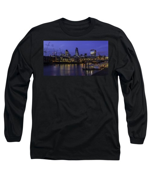 The City From The Southbank Long Sleeve T-Shirt
