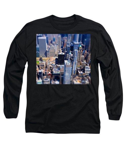 The City  Long Sleeve T-Shirt by Mckenzie Weldon