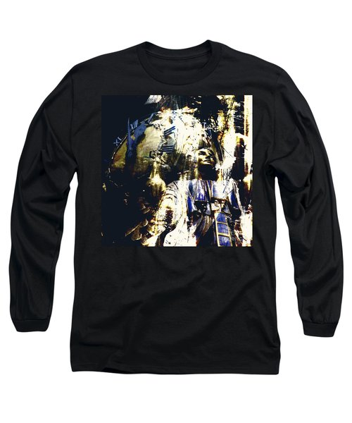 The Clock Struck One Long Sleeve T-Shirt by LemonArt Photography