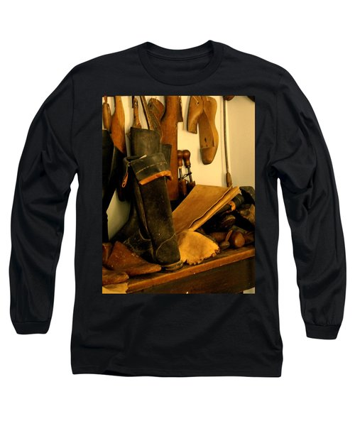The Cobbler Long Sleeve T-Shirt by Ian  MacDonald