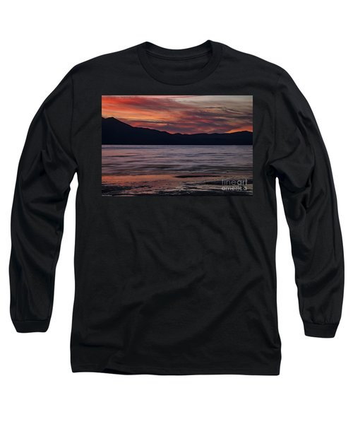 Long Sleeve T-Shirt featuring the photograph The Color Of Dusk by Mitch Shindelbower