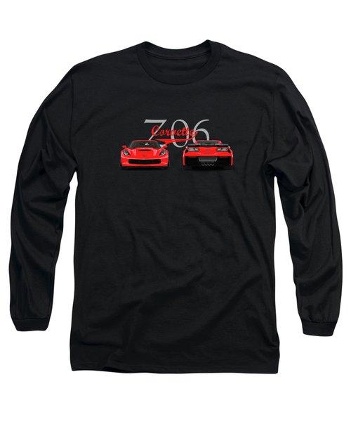 The Corvette Z06 Long Sleeve T-Shirt