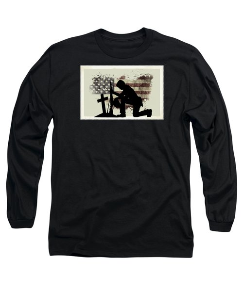 The Cost Of Freedom Long Sleeve T-Shirt