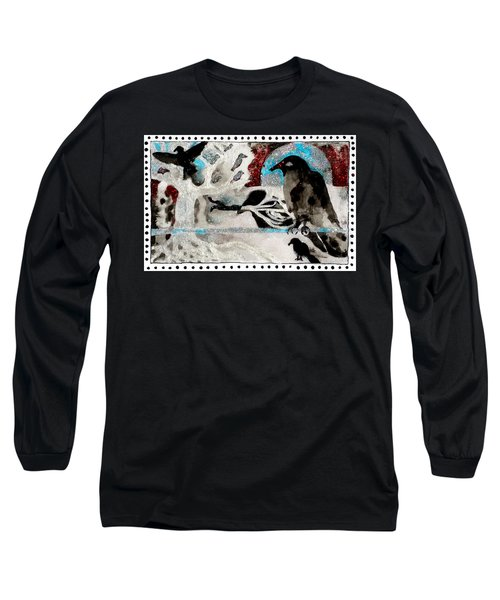 The Courage To Arive In Winter Long Sleeve T-Shirt