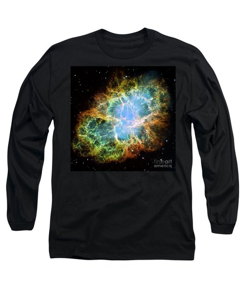 The Crab Nebula Long Sleeve T-Shirt