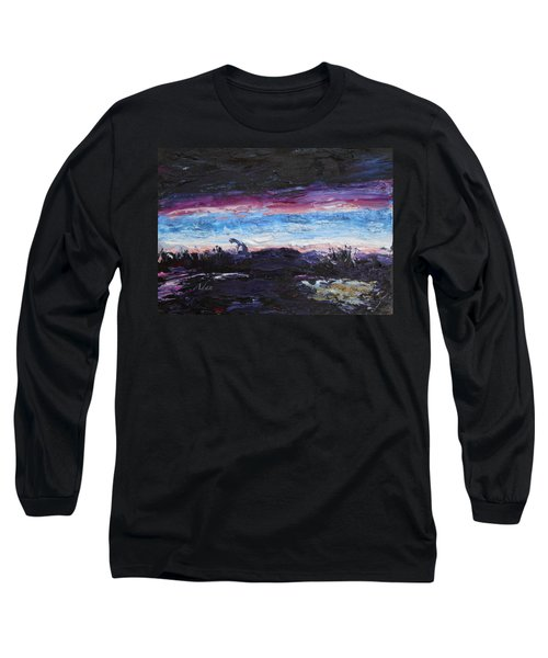 The Crack Of Time Long Sleeve T-Shirt
