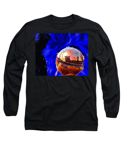 Humanity Calmly Watches The Extinction Long Sleeve T-Shirt