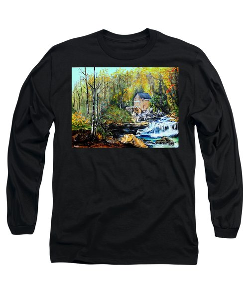 Glade Creek Long Sleeve T-Shirt by Farzali Babekhan