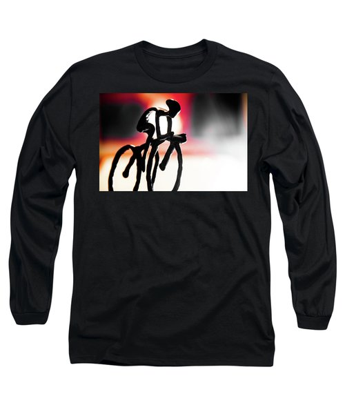 The Cycling Profile  Long Sleeve T-Shirt