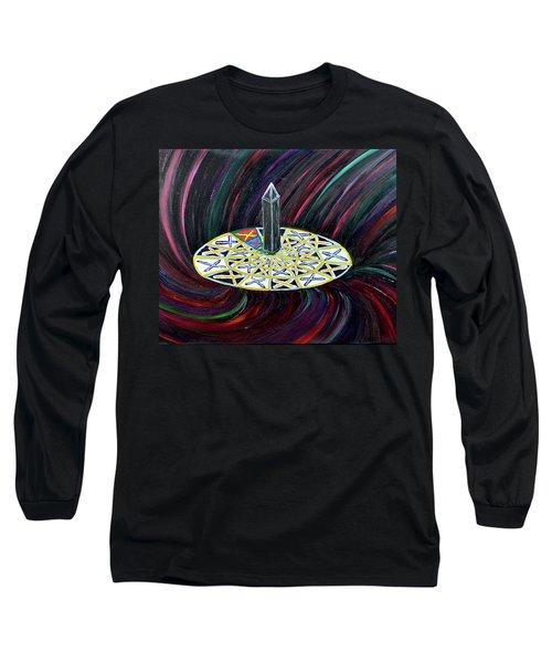 The Dark Mooonooolith Long Sleeve T-Shirt