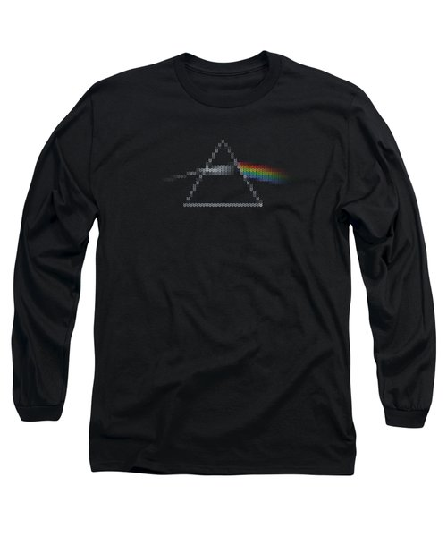 The Dark Side Of The Ugly Christmas Sweater Cool Dark Side Of The Moon Music Parody Long Sleeve T-Shirt