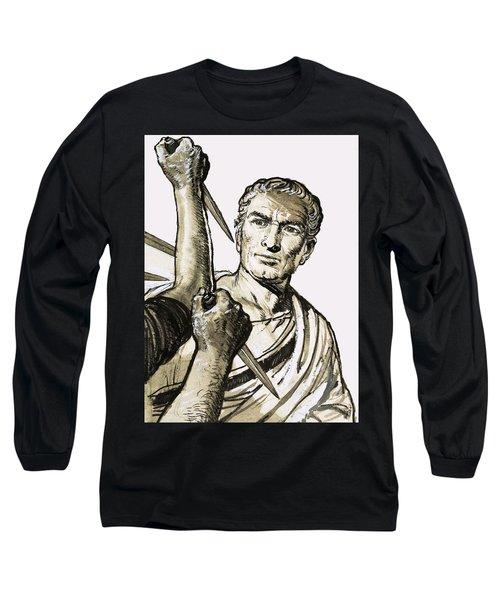 The Death Of Caesar Long Sleeve T-Shirt