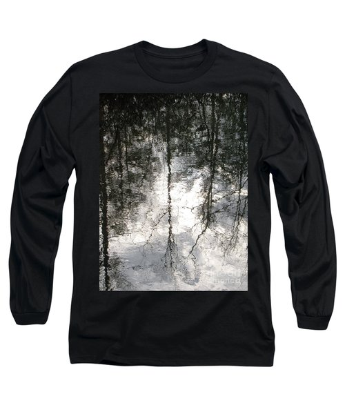Long Sleeve T-Shirt featuring the photograph The Devic Pool 2 by Melissa Stoudt