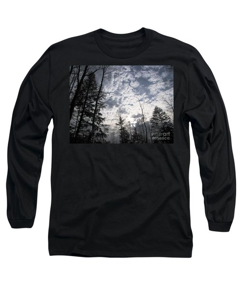 Long Sleeve T-Shirt featuring the photograph The Devic Pool 3 by Melissa Stoudt