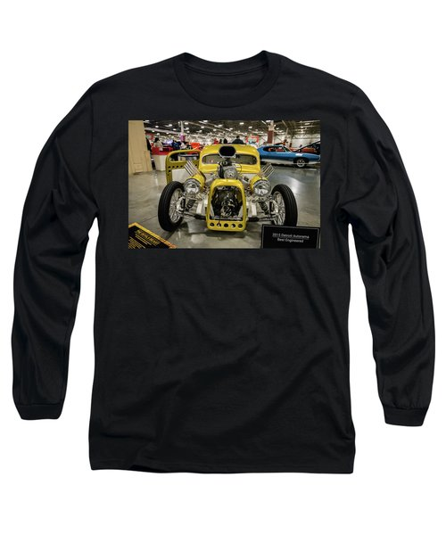 Long Sleeve T-Shirt featuring the photograph The Devils Beast by Randy Scherkenbach
