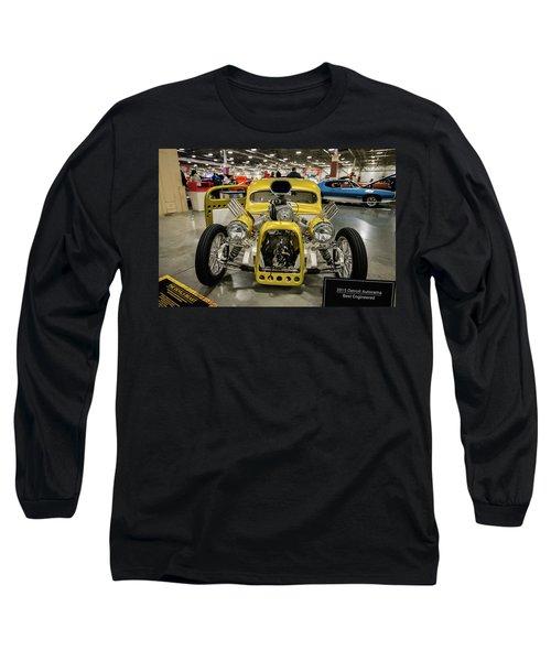 The Devils Beast Long Sleeve T-Shirt by Randy Scherkenbach