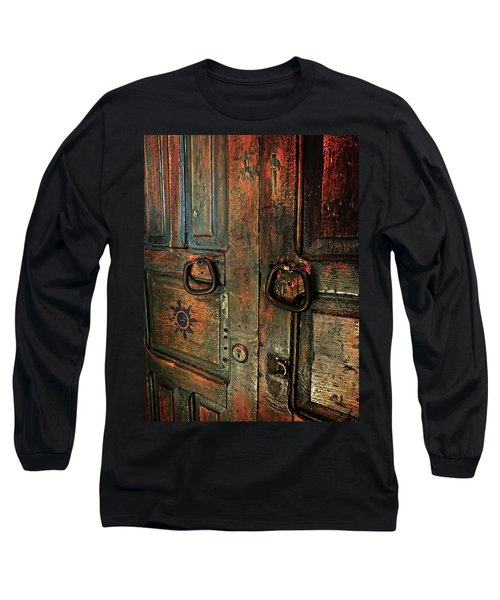 The Door Of Many Colors Long Sleeve T-Shirt