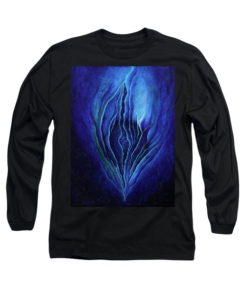 The Ecstatic Birth Of Cosmic Flow Long Sleeve T-Shirt