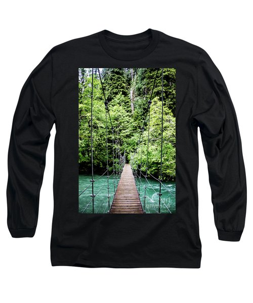 The Emerald Crossing Long Sleeve T-Shirt