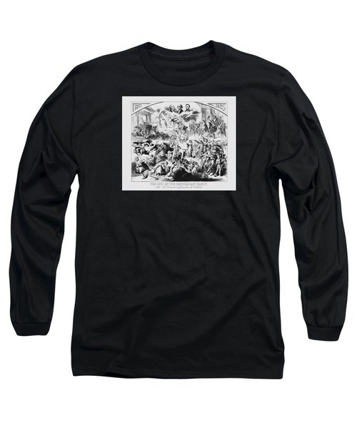 The End Of The Republican Party Long Sleeve T-Shirt by War Is Hell Store