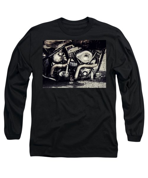 Long Sleeve T-Shirt featuring the photograph The Engine by Ari Salmela
