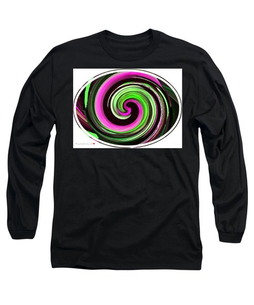 Long Sleeve T-Shirt featuring the painting The Eye by Catherine Lott