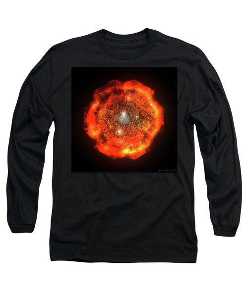 The Eye Of Cyma - Fire And Ice - Frame 146 Long Sleeve T-Shirt