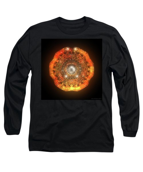 The Eye Of Cyma - Fire And Ice - Frame 160 Long Sleeve T-Shirt