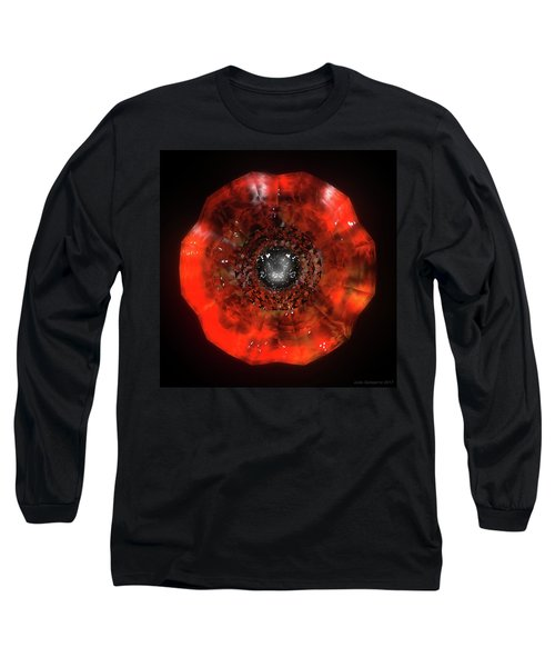 The Eye Of Cyma - Fire And Ice - Frame 40 Long Sleeve T-Shirt