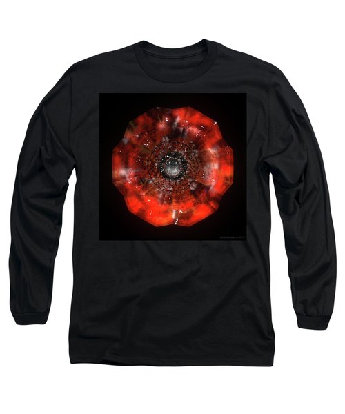 The Eye Of Cyma - Fire And Ice - Frame 45 Long Sleeve T-Shirt