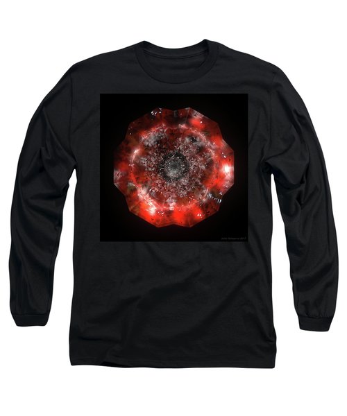 The Eye Of Cyma - Fire And Ice - Frame 49 Long Sleeve T-Shirt