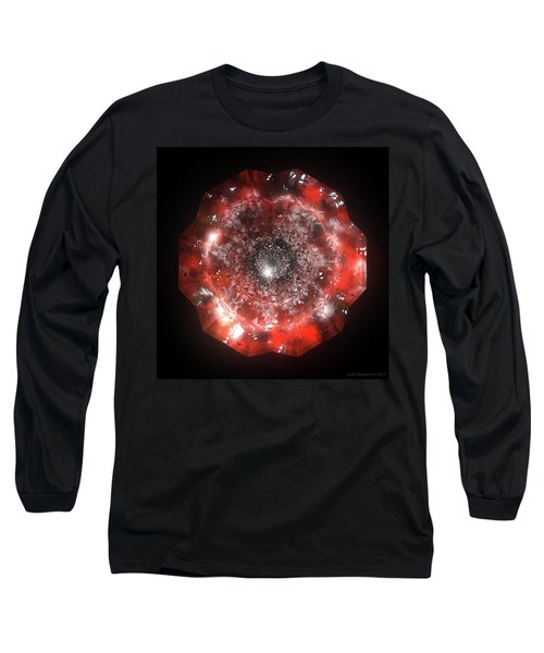 The Eye Of Cyma - Fire And Ice - Frame 50 Long Sleeve T-Shirt