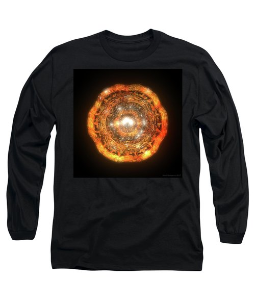 The Eye Of Cyma - Fire And Ice - Frame 7 Long Sleeve T-Shirt