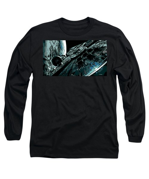 the Falcon Long Sleeve T-Shirt by George Pedro