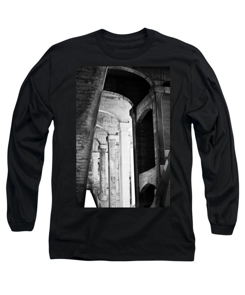 the fall of the house of Escher Long Sleeve T-Shirt