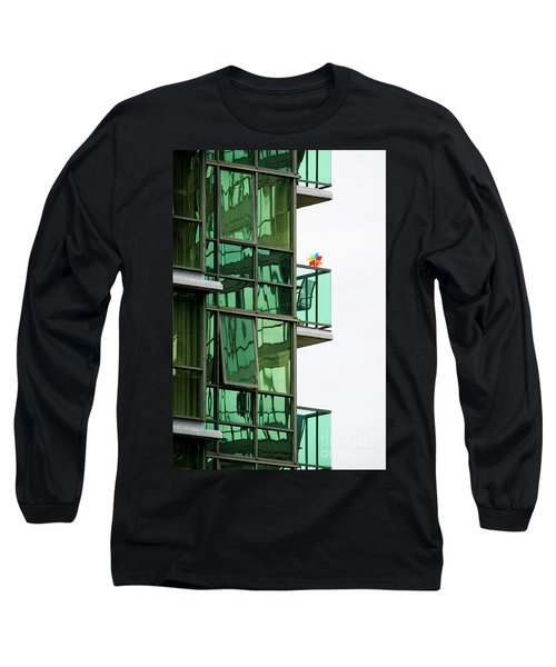 Long Sleeve T-Shirt featuring the photograph The Windmill by Chris Dutton