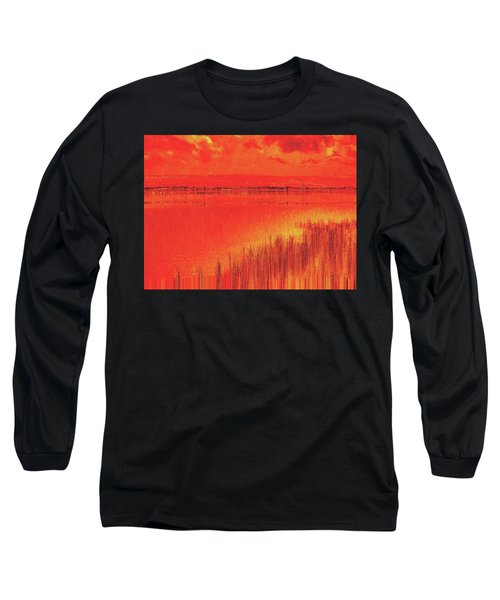 Long Sleeve T-Shirt featuring the digital art The Final Paragraph by Wendy J St Christopher