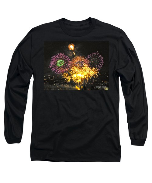 Long Sleeve T-Shirt featuring the photograph The Finale by Sean Griffin