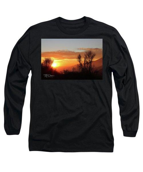 The Fire Of Sunset Long Sleeve T-Shirt